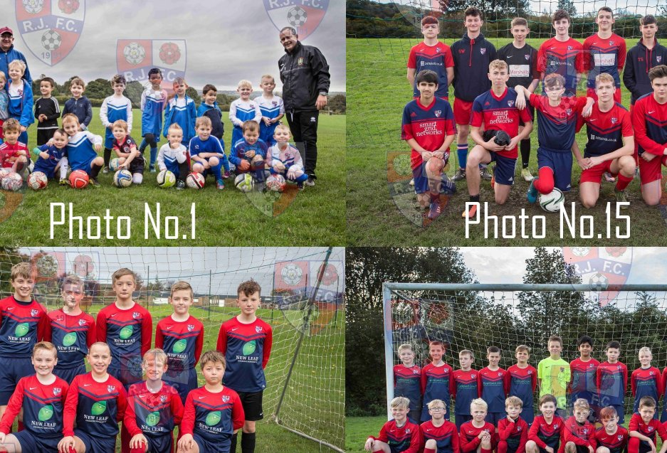 Team Photos – Orders closed