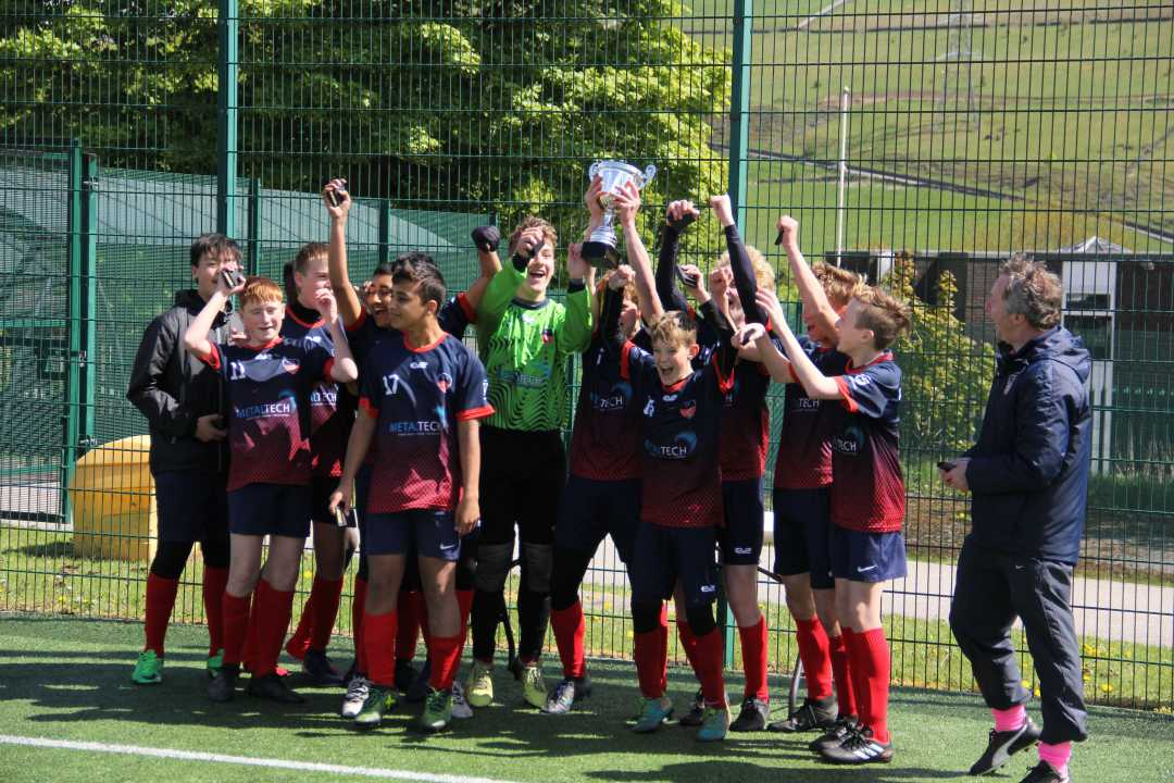 Under 14's Calderdale Cup Win!